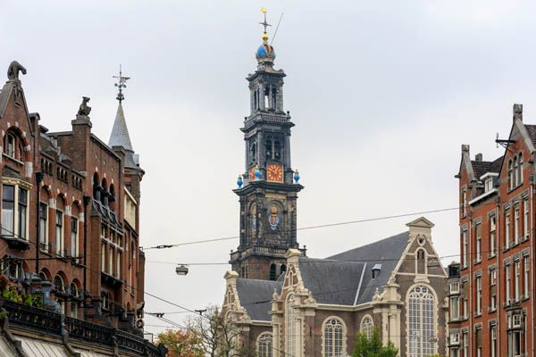Westerkerk de Ámsterdam