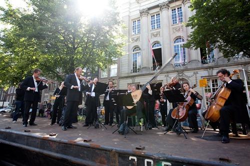 Festival en los Canales de Ámsterdam