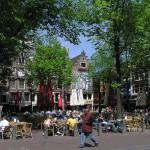 Día y noche en Leidseplein