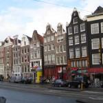 Las casas inclinadas de Amsterdam