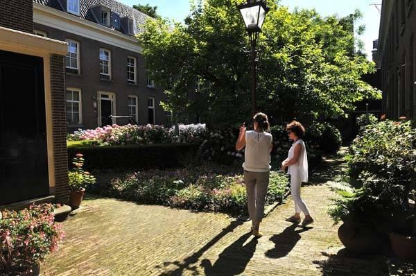 Hofje en Ámsterdam