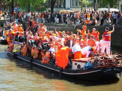 """""""El Día de la Reina"""" llega a la capital holandesa"""