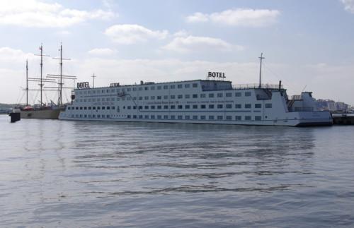 Amstel Botel Bv, un hotel-barco en Ámsterdam