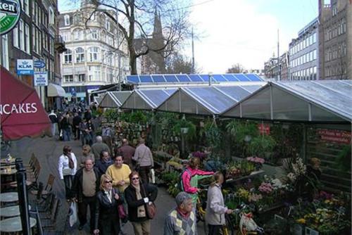 Bloemenmarkt, mercado de flores flotante