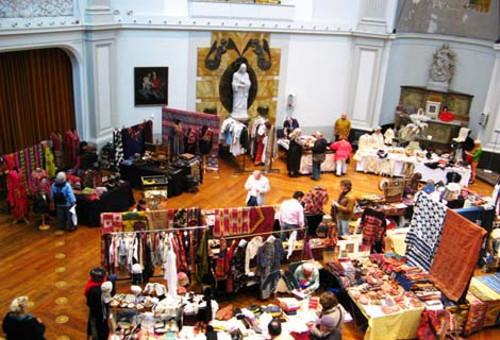 Ferias de joyas y textiles étnicos en Ámsterdam