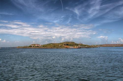 El fuerte de la isla Pampus, visita inolvidable