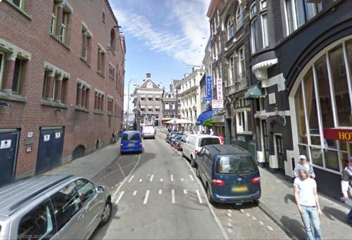 Beursstraat, hotel económico en Ámsterdam
