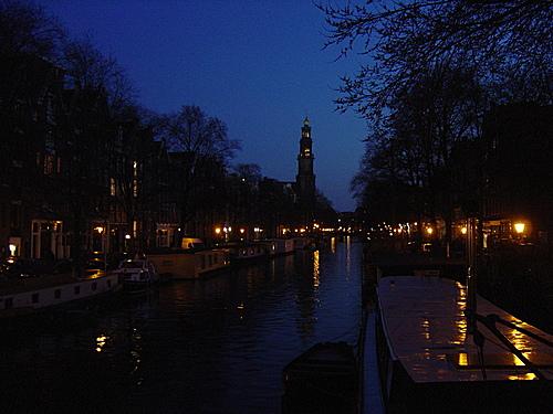 westerkerk de noche