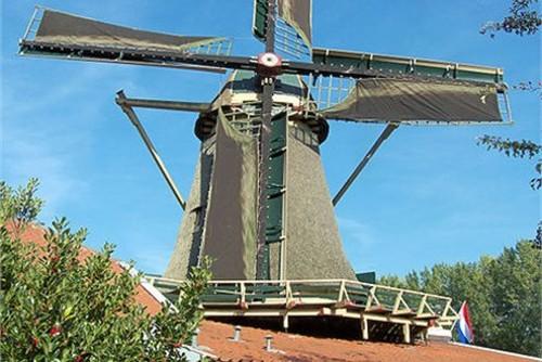 Los molinos de viento de Ámsterdam