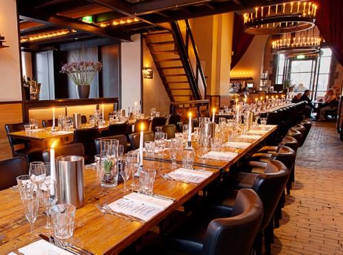 In de Waag, restaurante que es un monumento