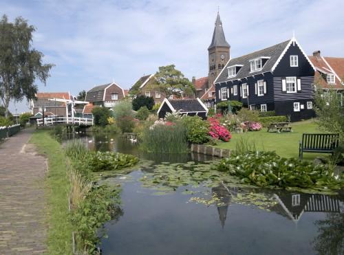 Marken, hermoso pueblo cerca de Amsterdam