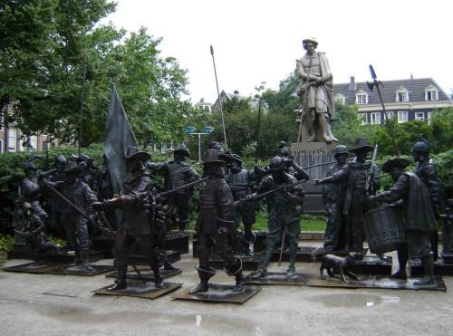 Una plaza en homenaje a Rembrandt