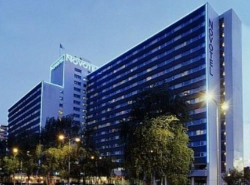 Novotel Amsterdam City, en la zona financiera