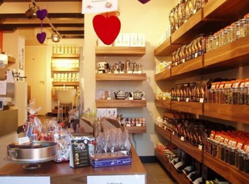 Kaldi, tienda especializada en café, té y postres