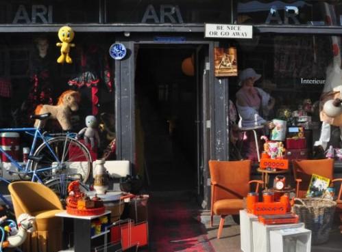 Ari, recomendada tienda de artículos vintage